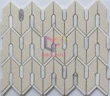 Специальная мозаика камня самомоднейшей конструкции формы для стены (CFS1178)