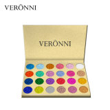 Chaud-En vendant des couleurs du produit de beauté 24 de Veronni imperméabiliser le fard à paupières de scintillement