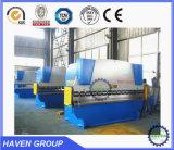 CE inoxidável hidráulico da dobra da chapa de aço de máquina de dobra de WC67K 250T/5000 e ISO