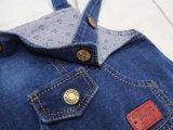 Мальчиков джинсовой Bib брюки моды детей джинсы комбинезоны