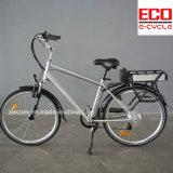 Bateria de lítio e bicicleta elétrica da série da cidade