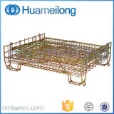 Abmontierbares zusammenklappbares Metallstahlsperrklappenkasten für Haustier-Vorformling-Speicher