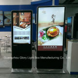 Supermercato Shopping Mall Advertizing Player con Charging System