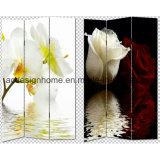 حارّ يبيع جميل جميل أنيق زهرات طبعة إلى حدّ ما 3 لوح نوع خيش/خشبيّ شامة & [رووم ديفيدر]