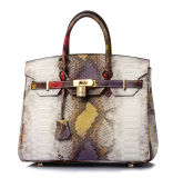 Grands sacs à main de sac d'emballage de Madame Real Leather de modèle de marque de mode