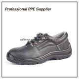 Zapatos de seguridad baratos escotados de cuero de Bafflo S1p