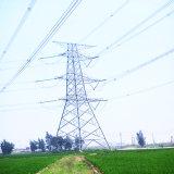 башня передачи силы угла цепей 220kv Doubule стальная