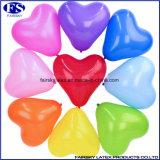Gelb-Herz-Form-Ballon für Partei-Dekoration