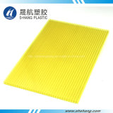 Da Gêmeo-Parede aprovada do policarbonato do GV folha plástica com proteção UV