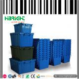 Fester stapelbarer Plastikumsatz-Kasten