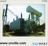 transformateur d'alimentation de filetage de chargement de Trois-Enroulement de 50mva 110kv