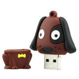 Memoria Flash di Pendrive del disco istantaneo del USB dell'animale del disco dell'azionamento 4GB 8GB 16GB 32GB 64GB U della penna del cane dell'azionamento dell'istantaneo del USB del fumetto