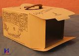 Kundenspezifisches Karton-Papier-Schnellimbiß u. Kuchen-Geschenk-verpackenverpackungs-Kasten