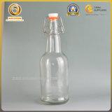 フリップ帽子(339)が付いている専門の卸売16ozのガラスビール瓶
