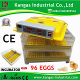 Incubateur commercial d'oeufs des prix raisonnables de 96 oeufs