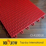 Para interior y exterior de PVC Sport haga clic en baldosa (IC-X1001R)