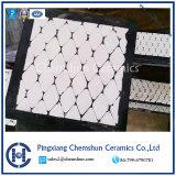 Fodera di ceramica di gomma resistente di usura di Composited dell'abrasione