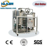 L'huile de la turbine de la machine de traitement sous vide