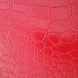 Couro genuíno do PVC do couro artificial do PVC do couro da mala de viagem da trouxa dos homens e das mulheres da forma do couro do saco Z060 do fabricante da certificação do ouro do GV