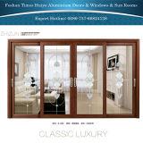 Раздвижная дверь двойного слоя хорошего качества цены по прейскуранту завода-изготовителя стеклянная алюминиевая для мола