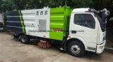 Dongfeng una via di 90 chilowatt che lava il camion della spazzatrice di strada da 5 chilolitri