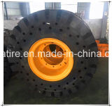 Alto teor de borracha 17.5-25 Loda 18.00-25 26.5-25 pneu sólido