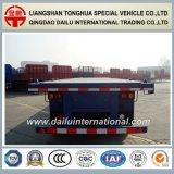 3青の半車軸40FT平面の容器の交通機関のトレーラー