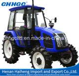 De diesel van de Aandrijving van de Motor van de Landbouwtrekker Yto/Yuchai 70HP Hete Verkoop met 4 wielen van de Tractor