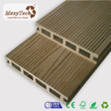 Decking di plastica portatile esterno del legno duro del bacino