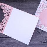 Beste Entwurfs-Laser-Schnitt-Hochzeits-Einladungs-Großhandelskarte
