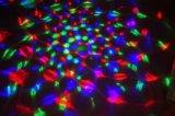 RGB의 다채로운 LED 자전 전구 3W RGB LED 수정같은 마술 공 빛 디스코