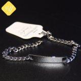 Оптовая торговля дешевые Custom металлические собака метка с ожерельем