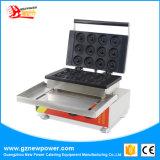 12 PCS Manual em aço inoxidável Dount Comercial máquina de fazer Mini Donut Maker