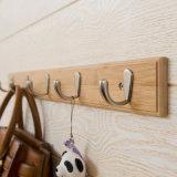 Enduire les racks de bambou de style moderne Crochet de suspension Hanger