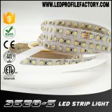 Una striscia 5050, una striscia di 3528 240 LED/M, striscia dei 600 LED di Blacklight LED