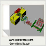 Машина CCM непрерывного литья заготовки 5 стренг