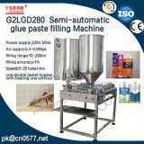 Máquina de rellenar de la goma doble semiautomática de las pistas para la salsa de chile (G2LGD280)