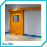 Puerta deslizante hermética automática de calidad superior Dmnh01 para el hospital