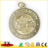 Medalla de alta calidad chapado en cobre Metal Logotipo estampado medalla moneda