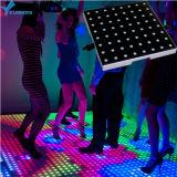 Lumière sensible DEL interactive Dance Floor d'usager de la connexion sans fil RVB