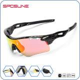 Vidrios de Sun irrompibles de ciclo al aire libre del montar a caballo de la lente de la PC de las gafas de sol de la alta calidad UV400 del deporte