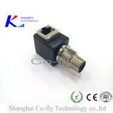 Разъем RJ45 колено электрические M12 3, 4, 5, 6, 8, 10 контактный разъем сетевого адаптера