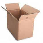 Коробка коробки гофрированной бумага просто конструкции изготовленный на заказ