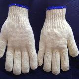 Хлопок вязаные рукавицы безопасности