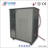 Machine de découpage automatique avancée de brique de gaz de Hho