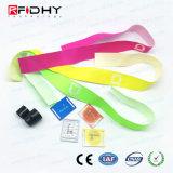Wristband tessuto RFID Ultralight EV1 di controllo di accesso NFC MIFARE