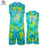 Plus tard le basket-ball des uniformes de la conception de vêtements de sport de basket-ball de sublimation maillot personnalisé