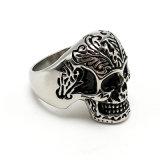 De creatieve Ring van de Manier van het Roestvrij staal van de Schedel van Juwelen