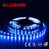 L'UL RGB IP65 impermeabilizza l'illuminazione di striscia del LED