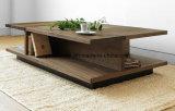 固体木の食事の机の居間の家具(M-X2383)
